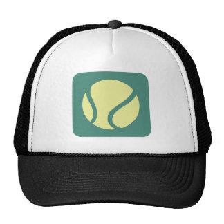 Pelota de tenis creativa gorras de camionero