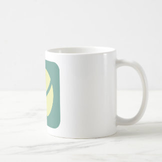 Pelota de tenis creativa taza de café