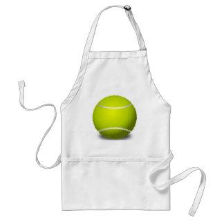 Pelota de tenis delantales