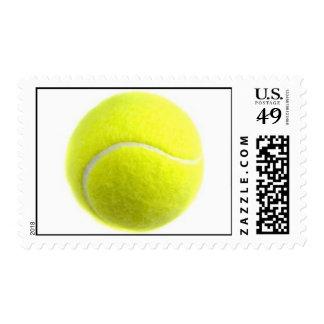 pelota de tenis estampilla