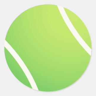 Pelota de tenis fresca para los jerseys de equipo pegatina redonda