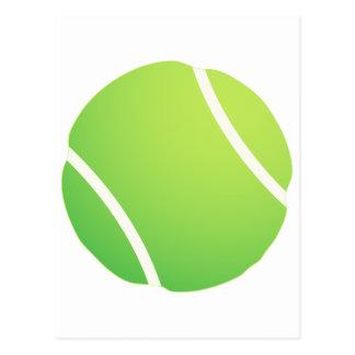 Pelota de tenis fresca para los jerseys de equipo  tarjetas postales