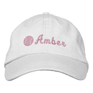 Pelota de tenis gorra bordada
