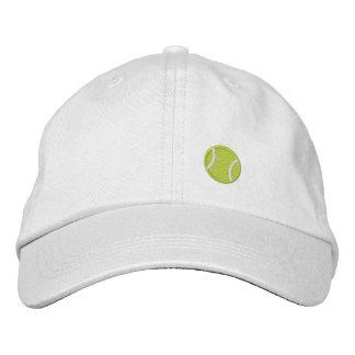 Pelota de tenis gorra de beisbol bordada