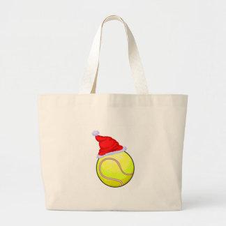 Pelota de tenis (gorra de Santa) Bolsa Tela Grande