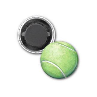 Pelota de tenis iman para frigorífico