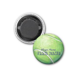 Pelota de tenis imanes para frigoríficos