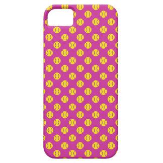 Pelota de tenis Iphone 5 colores del Funda Para iPhone 5 Barely There