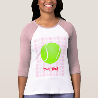 Pelota de tenis linda camisetas
