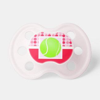 Pelota de tenis linda chupetes de bebe
