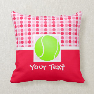 Pelota de tenis linda almohada