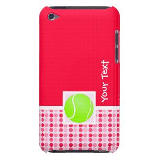 Pelota de tenis linda barely there iPod cárcasas