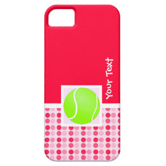 Pelota de tenis linda iPhone 5 protector