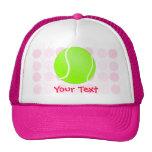 Pelota de tenis linda gorras de camionero