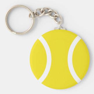 Pelota de tenis llavero