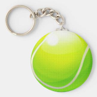 pelota de tenis llavero redondo tipo pin