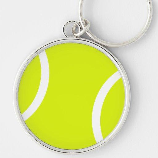 Pelota de tenis llaveros