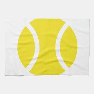 Pelota de tenis toallas de mano