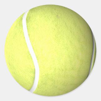 Pelota de tenis pegatinas redondas
