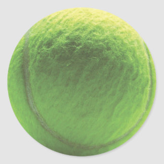 Pelota de tenis pegatina