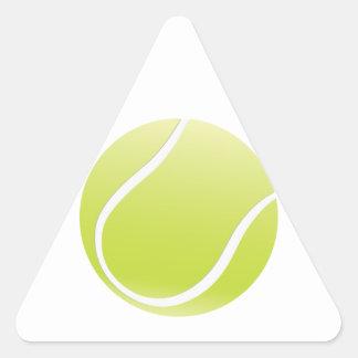 pelota de tenis calcomanía triangulo