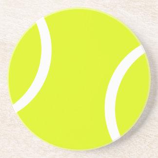 Pelota de tenis posavasos para bebidas