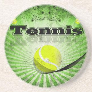 Pelota de tenis posavasos diseño