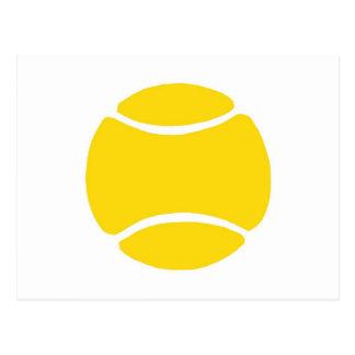 Pelota de tenis tarjetas postales
