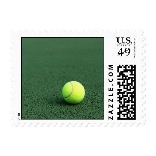 Pelota de tenis timbres postales