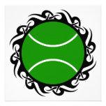 pelota de tenis tribal invitacion personal