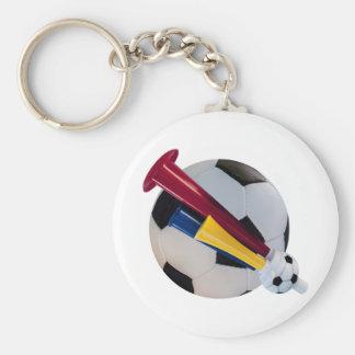 pelota tocada llavero redondo tipo pin