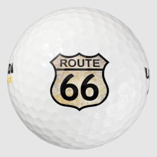 Pelotas de golf de la ruta 66 pack de pelotas de golf