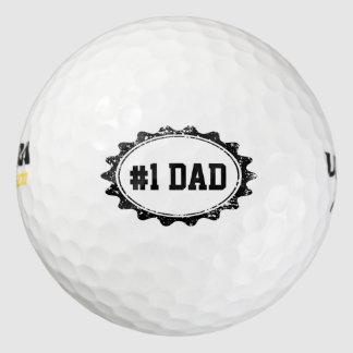 Pelotas de golf de Personalizable para el PAPÁ de Pack De Pelotas De Golf