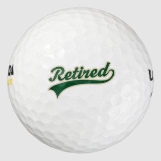Pelotas de golf del regalo del retiro pack de pelotas de golf