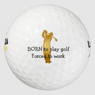 Pelotas de golf divertidas pack de pelotas de golf