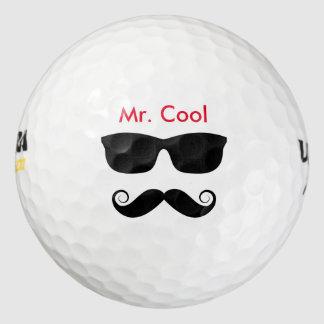 Pelotas de golf frescas divertidas pack de pelotas de golf