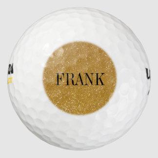 Pelotas de golf personalizadas con el monograma pack de pelotas de golf