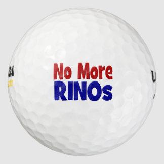 Pelotas de golf, rojo y azul de no más de RINO Pack De Pelotas De Golf