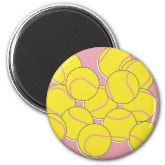 Pelotas de tenis imán redondo 5 cm