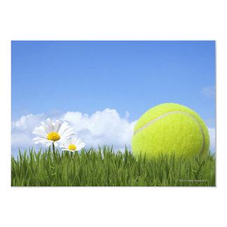 """Pelotas de tenis invitación 5"""" x 7"""""""
