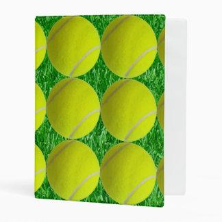 Pelotas de tenis mini carpeta