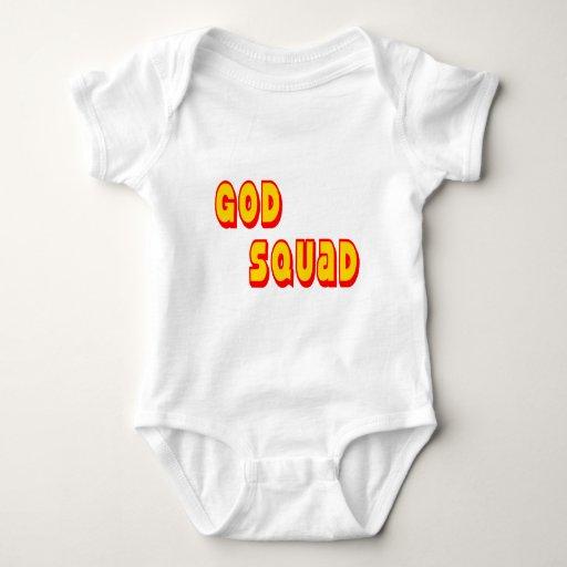 Pelotón de dios body para bebé