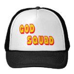Pelotón de dios gorras de camionero