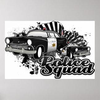 Pelotón de la policía poster