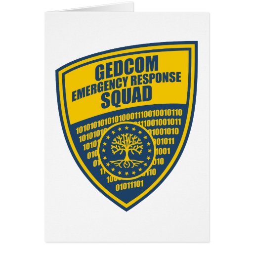 Pelotón de la respuesta de emergencia de GEDCOM Tarjeta