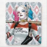 Pelotón del suicidio el   Harley Quinn Alfombrilla De Raton