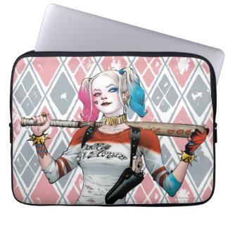 Pelotón del suicidio el | Harley Quinn Funda Computadora