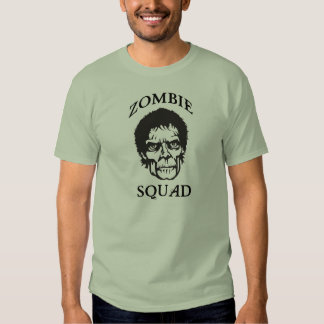 Pelotón del zombi poleras