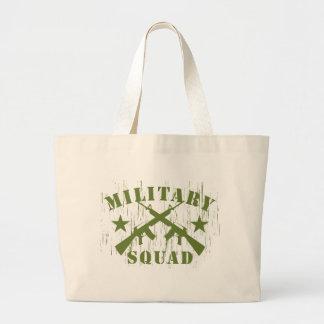 Pelotón militar M16 - verde Bolsa Tela Grande