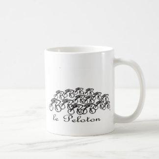 Peloton Classic White Coffee Mug